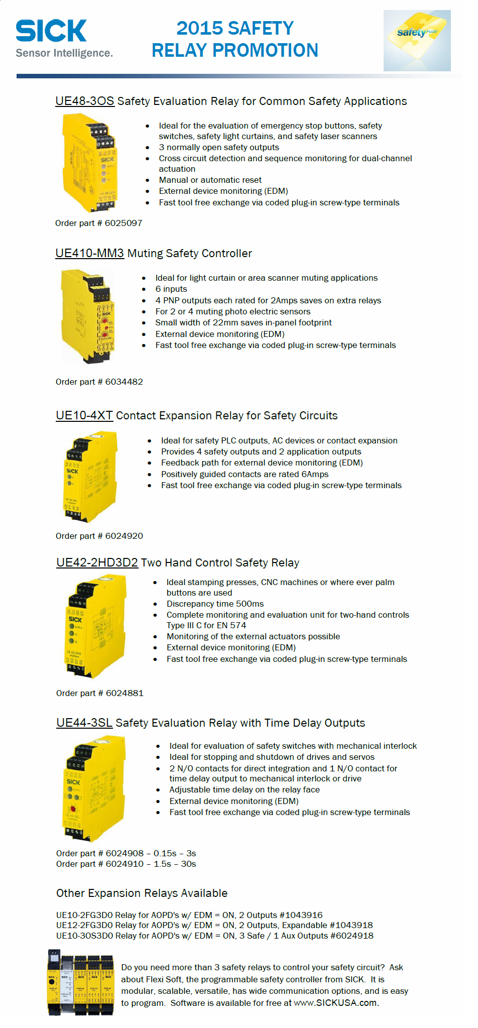 August 2015 Safety Relay Promotion